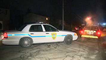 A police officer on duty was shot by another officer in Baldwin Borough.