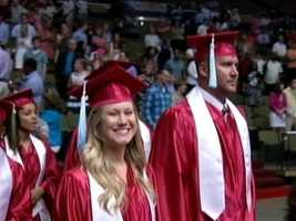 Roethlisberger eventually got his degree and walked with the rest of the graduating class in the spring of2012.