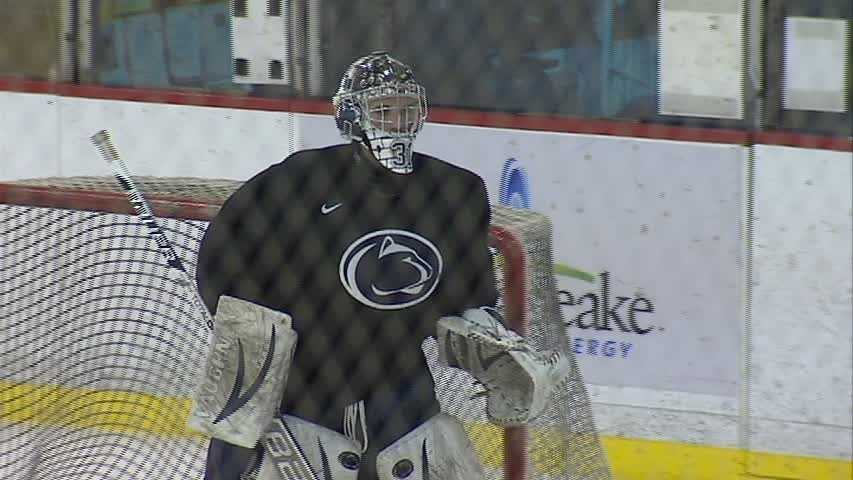 Freshman goalie Matthew Skoff (Montour) told Junker that he could see Penn State playing in the NCAA Frozen Four hockey championship before his collegiate career is over.