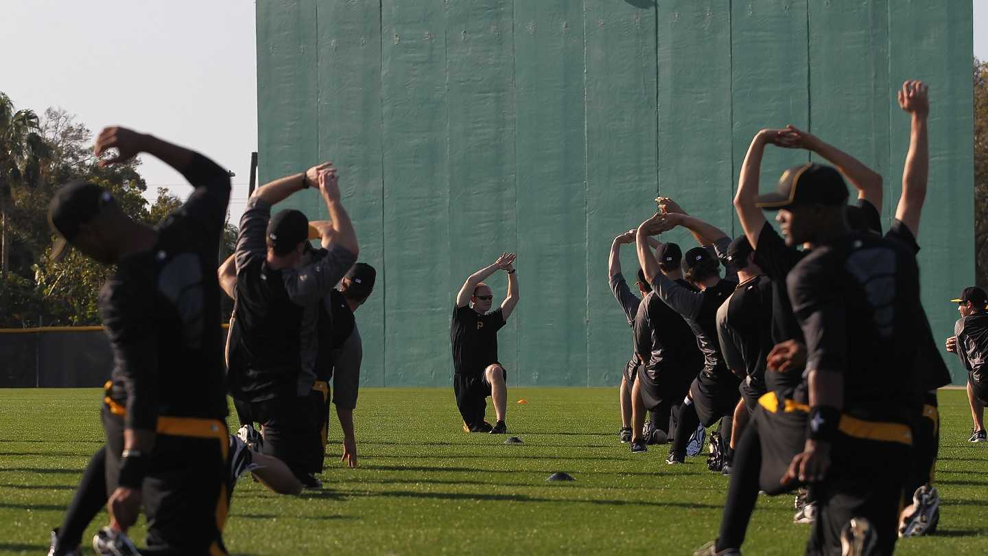 The Pittsburgh Pirates are in Florida to begin spring training for the 2013 baseball season.