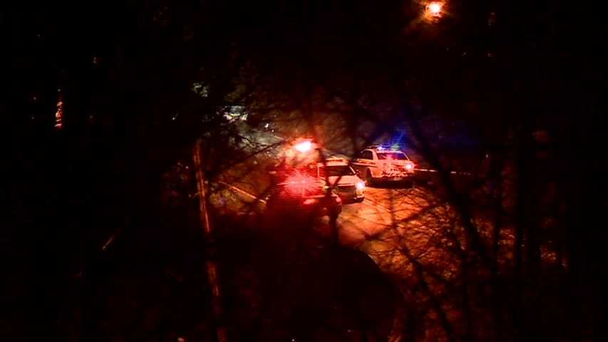 Pittsburgh police say a man died and two people were injured in a crash on Mifflin Road in Lincoln Place.