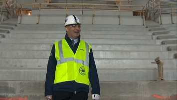 Penn State Associate Athletic Director for Ice Arena and Hockey Development Joe Battista.