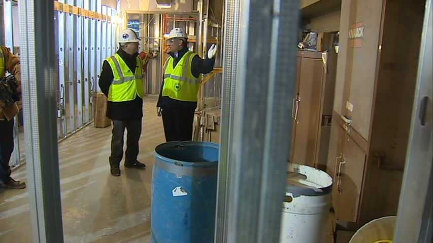 Joe Battista and Action Sports' Guy Junker go behind the scenes of the Pegula Ice Arena.