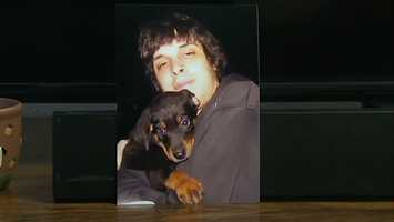 """""""She brought him this puppy and she said, 'I want you to have him,' and he said, 'No, I don't need him,' or whatever, and she said, 'No, Corey, he will be the best thing for you,' and instantly he was attached to that dog,"""" said Karen McMillan."""