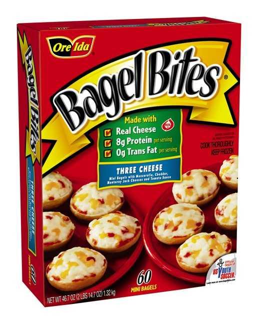 Bagel Bites is another Heinz brand.