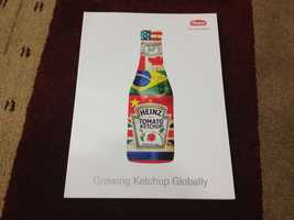 Heinz also pumps out ketchup in other countries and under different brand names.