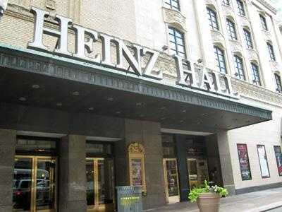The Heinz name can be seen all over Pittsburgh. For example, Heinz Hall for the performing arts is in the heart of the downtown Cultural District.
