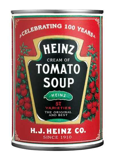 tomato soup ...