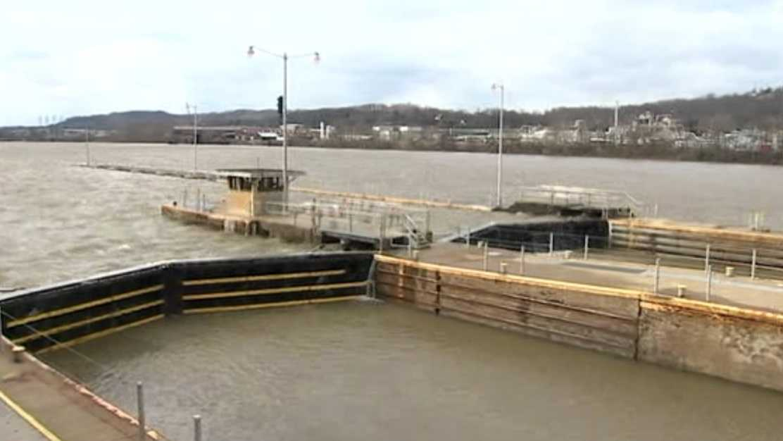 Lock and Dam in Elizabeth