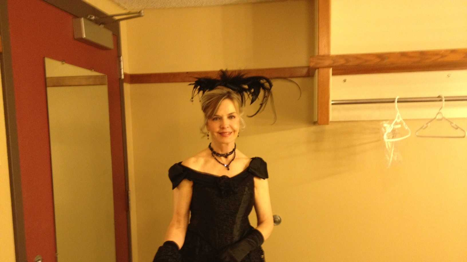Channel 4 Action News anchor Sally Wiggin took the stage on opening night of the Pittsburgh Ballet Theatre's production of Moulin Rouge at the Benedum Center.