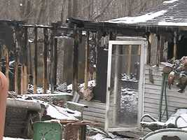 The fire happened on Route 488.