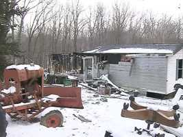 Two people died in a mobile home fire in Perry Township,Lawrence County.