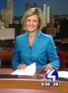 ... to weekend morningnewscast anchor ...