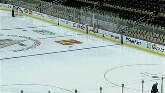 ice at Consol Energy Center