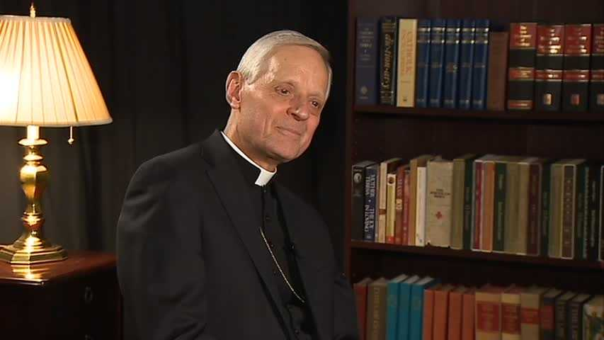 Cardinal Donald W. Wuerl, archbishop of Washington, D.C.