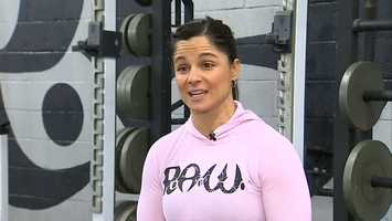 """CrossFit is constantly varied, high intensity, functional movement. It's about doing primal movements, like running and throwing and squatting and pulling and pushing and jumping, moving high loads over long distances,"" said Amy Butteri, co-owner and trainer at R.A.W. Training in the North Hills."