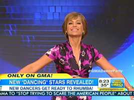Dorothy Hamill, U.S. Olympic gold medalist in figure skating.