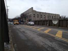 The South Highland Avenue bridge connects Shadyside with East Liberty.