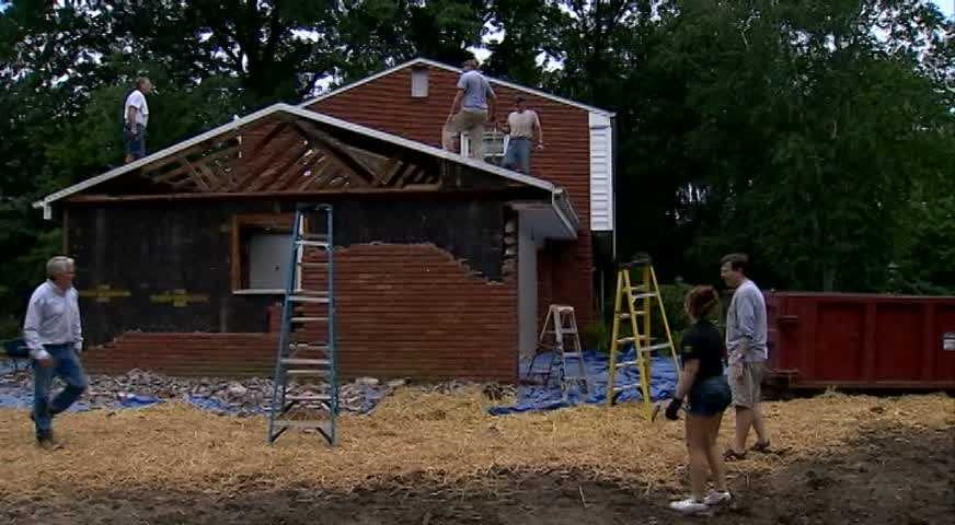 In July, they started tearing down the garage to make way for where Neil Alexander will live the remainder of his days.