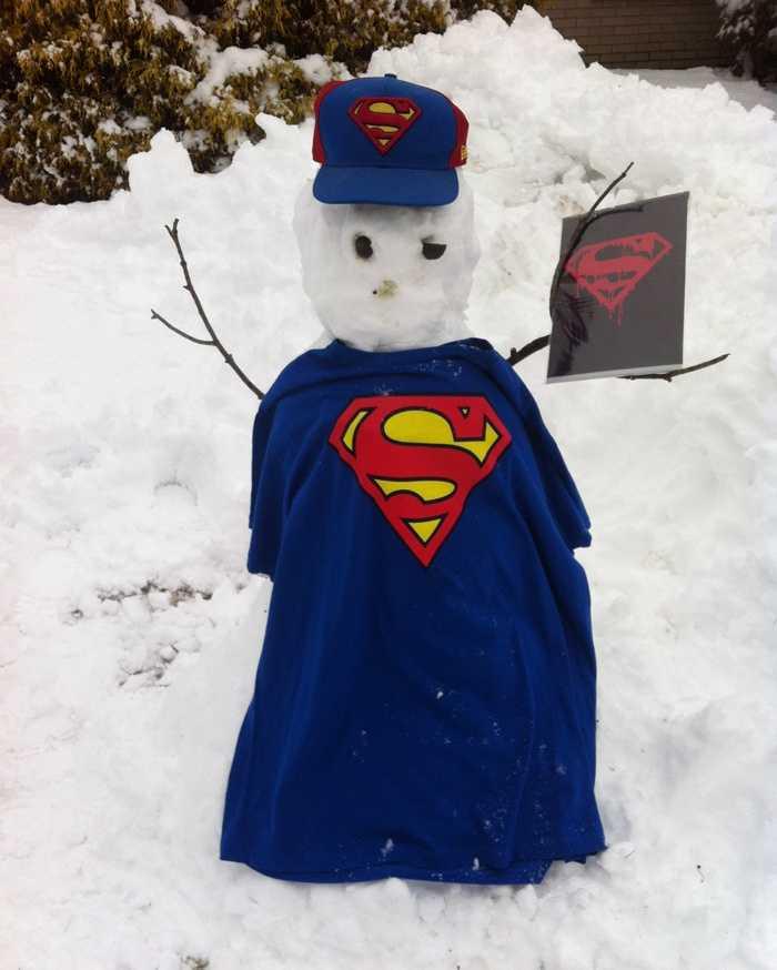 Superman landed in Kittanning.