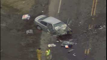 Two vehicles were involved in a fatal crash on Route 18 in Hanover Township, Washington County.
