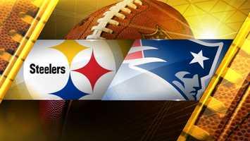 Week 9: Pittsburgh atNew EnglandPatriots 55, Steelers 31