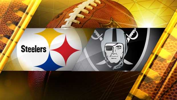 Week 8: Pittsburgh at OaklandRaiders 21, Steelers 18
