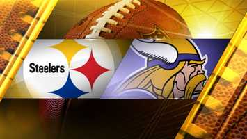 Week 4: Pittsburgh at Minnesota(Wembley Stadium, London)Vikings 34, Steelers 27