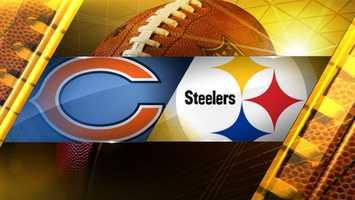 Week 3: Chicago at PittsburghBears 40, Steelers 23
