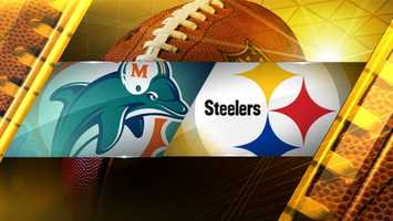 Week 14: Miami at PittsburghDolphins 34,Steelers 28