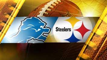 Week 11: Detroit at PittsburghSteelers 37, Lions 27