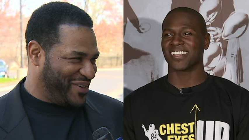 Jerome Bettis, Antonio Brown