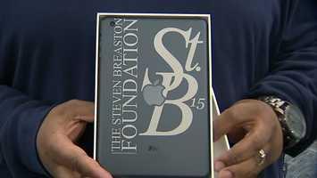 Breaston made a similar donation through his Steve Breaston Foundation to a high school in Kansas City, Mo.
