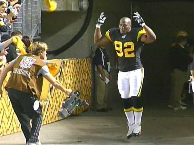 Linebacker James Harrison agreed to a two-year deal to remain in the AFC North as a member of the Cincinnati Bengals.