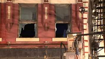 """""""Over the years, they covered up the third-floor stairwell, which made it difficult, so all the entry had to be made initially from the rear of the structure. That's where the main bulk of the fire was -- the flames and the heavy smoke,"""" Yakich said."""