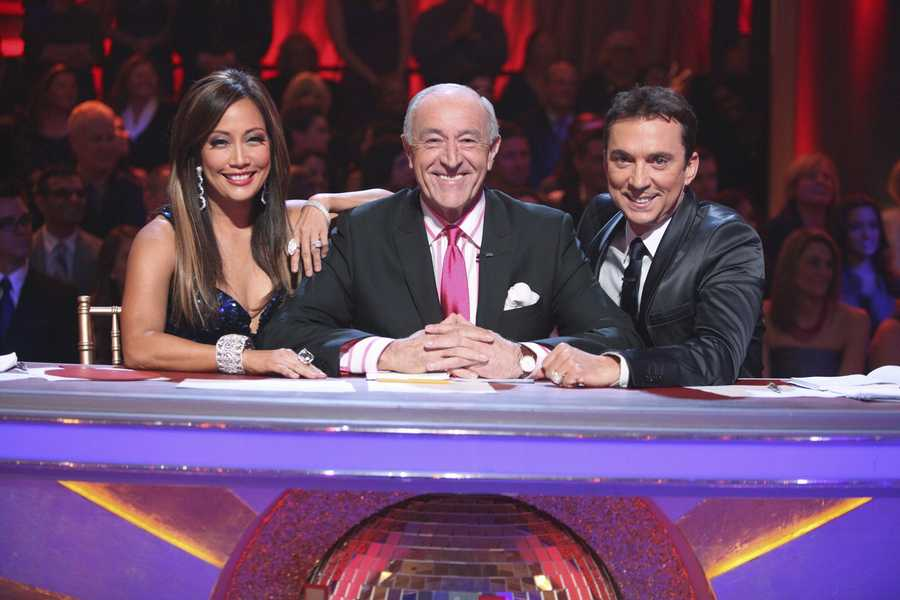 """Dancing with the Stars"""" and """"Dancing with the Stars: the Results Show"""" return this season with new surprises and all the performance elements viewers have come to know and love. The celebrities perform choreographed dance routines which will be judged by renowned Ballroom judge Len Goodman and dancer/choreographers Bruno Tonioli and Carrie Ann Inaba. (Photo: ABC/Adam Taylor)"""