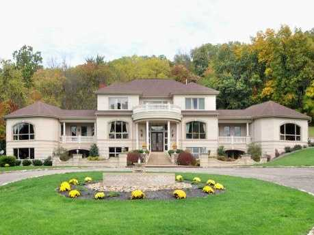 This beautiful estate includes 10,000 square feet of living space, six bedrooms, nine baths and much more. The home is on the market for $2.6 million and featured on realtor.com.