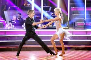 "Kellie Pickler & Derek Hough - ""Dancing with the Stars"" was back with an all-new cast of fresh faces hitting the dance floor. The competition began with the two-hour Season 16 premiere, live on Monday, March 18th. (ABC/Adam Taylor)"