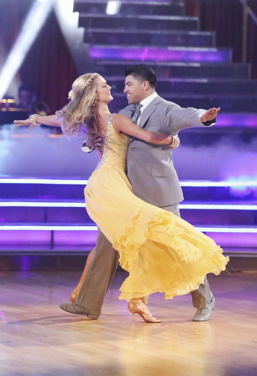 "Victor Ortiz & Lindsay Arnold - ""Dancing with the Stars"" was back with an all-new cast of fresh faces hitting the dance floor. The competition began with the two-hour Season 16 premiere, live on Monday, March 18th. (ABC/Adam Taylor)"