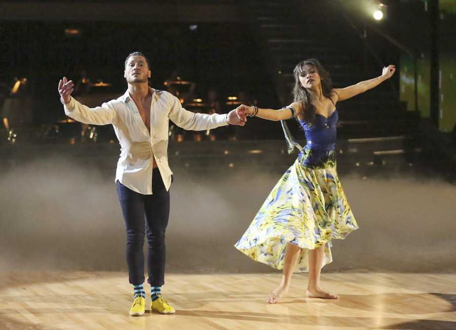 "Zendaya & Val Chmerkoskiy - ""Dancing with the Stars"" was back with an all-new cast of fresh faces hitting the dance floor. The competition began with the two-hour Season 16 premiere, live on Monday, March 18th. (ABC/Adam Taylor)"