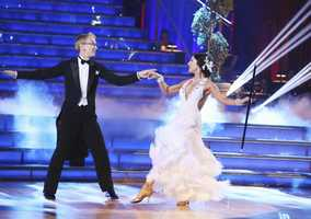"Andy Dick & Sharna Burgess - ""Dancing with the Stars"" was back with an all-new cast of fresh faces hitting the dance floor. The competition began with the two-hour Season 16 premiere, live on Monday, March 18th. (ABC/Adam Taylor)"