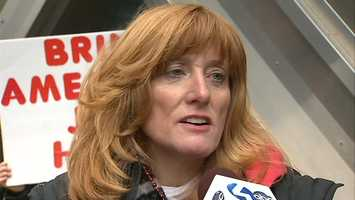 """""""A lot of our employees are in the same situation -- 28 years, 52 years old. Where are they going to go? These are good paying jobs,"""" said Mary Lou Schaffer, a spokeswoman for Pittsburgh CWA Local 13550 workers."""