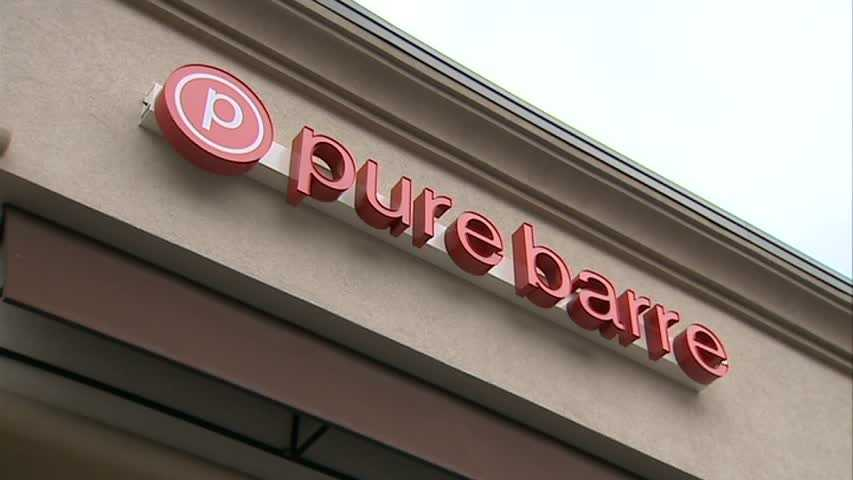 """At Pure Barre Mt. Lebanon, owner Melissa Evancic says the motto is """"lift, tone, burn."""""""