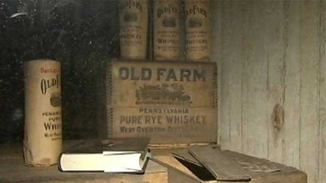 Old Farm pure rye whiskey