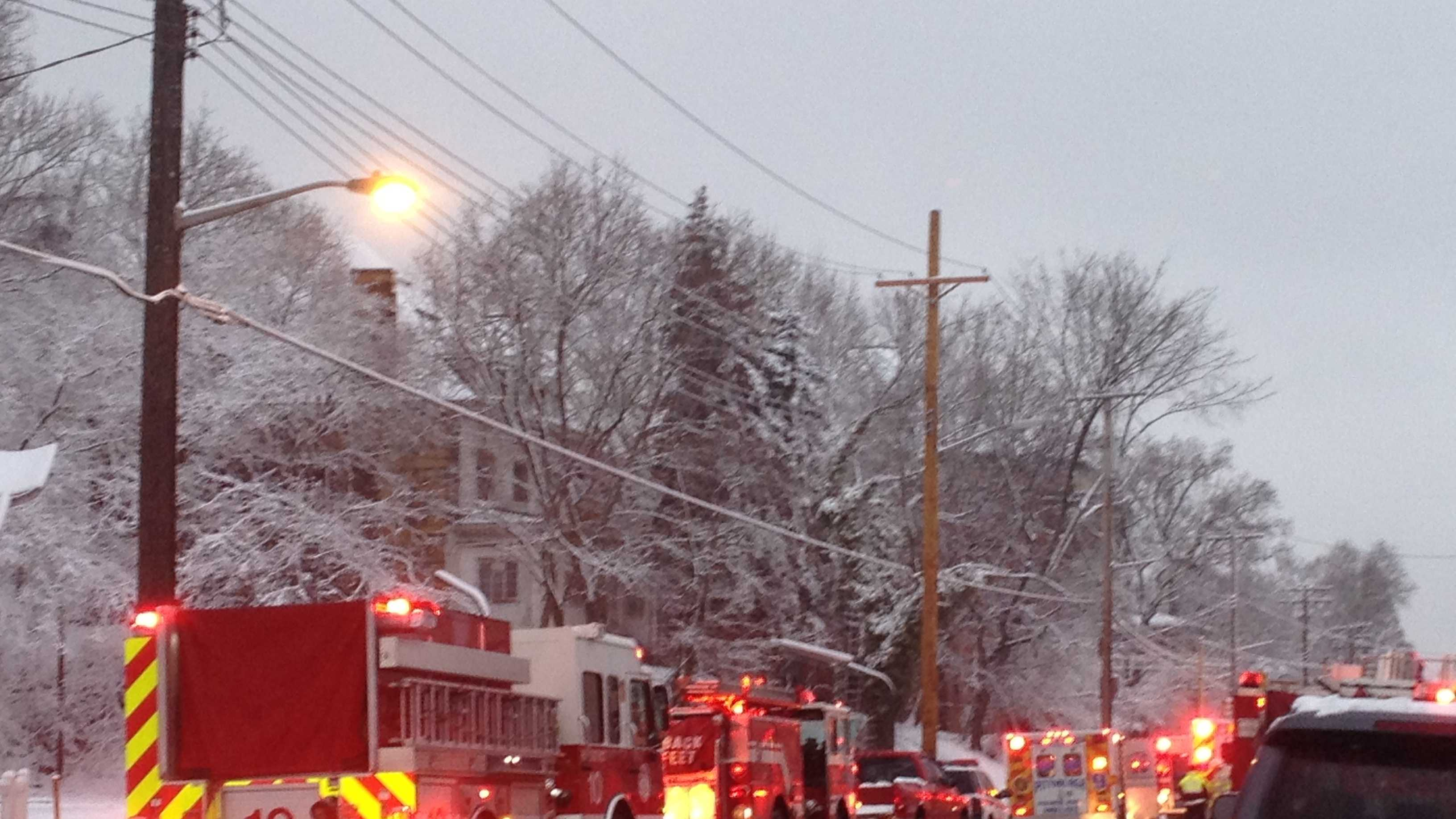 East Liberty fire 2