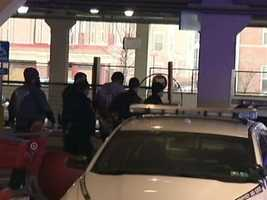 The suspect, Leon Raymond Walls, 41, was taken into custody when Pittsburgh police arrived at Target.