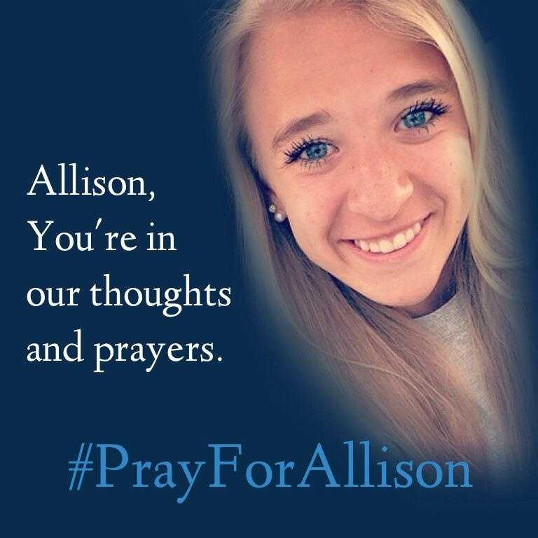 Silverdale Baptist Academy posted this photo of the victim, Allison Meadows, on Facebook. She is a student at the school in Chattanooga, Tenn.