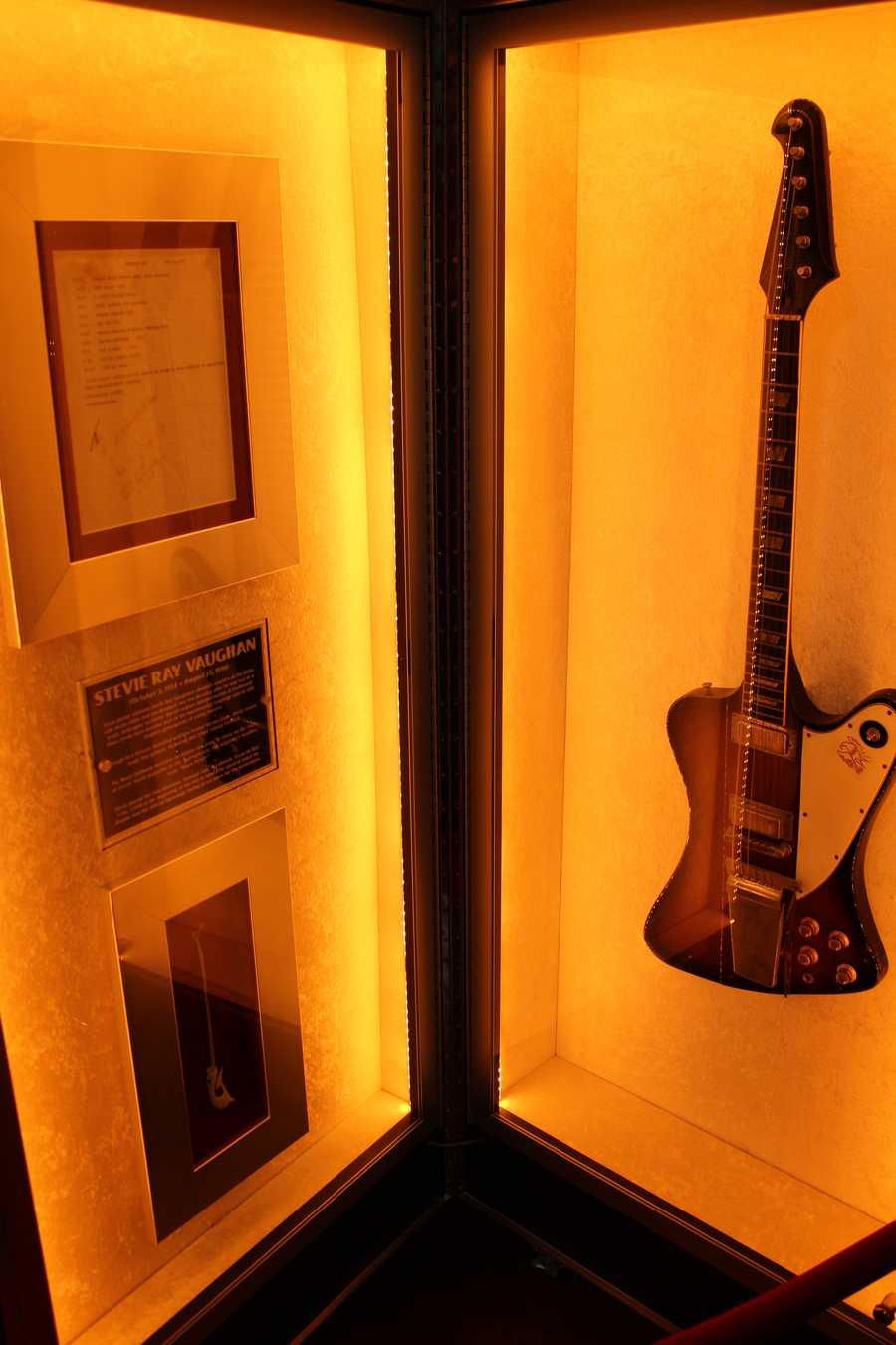 Stevie Ray Vaughan's '64 Gibson Firebird