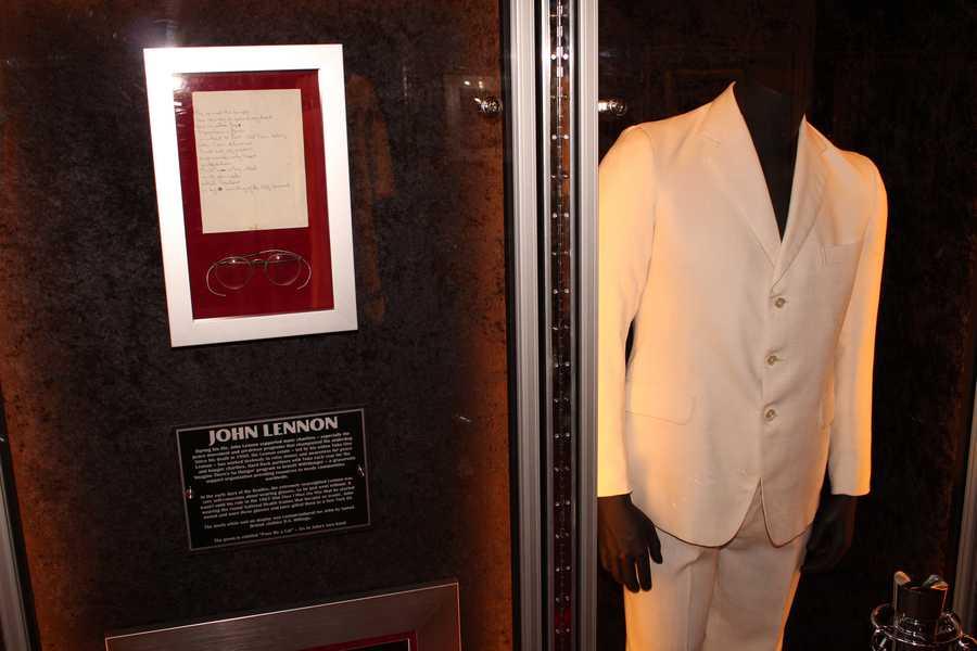 John Lennon's white suit