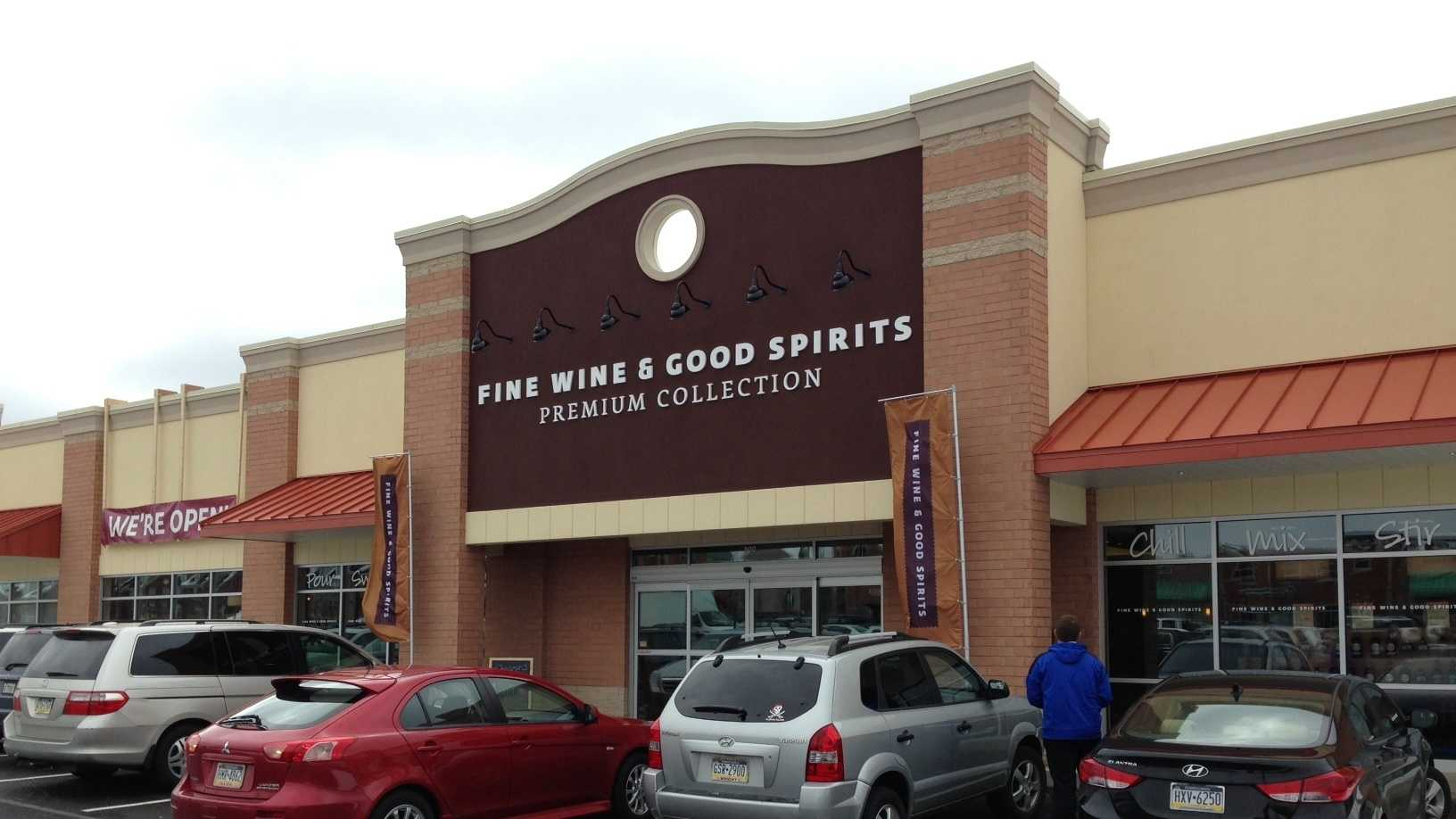 The Fine Wine & Good Spirits store in the Village at Pine shopping center offered free tastings at its grand opening Tuesday morning.